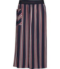 skirt long woven fab lång kjol multi/mönstrad gerry weber