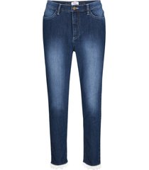 jeans cropped con pizzo maite kelly (nero) - bpc bonprix collection