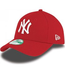 gorra new era new york yankees essential 9forty - rojo