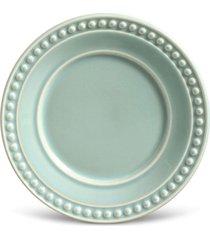 conjunto 6pã§s pratos de sobremesa porto brasil atenas verde - verde - dafiti