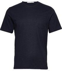 finn t-shirt 11700 t-shirts short-sleeved blå samsøe samsøe
