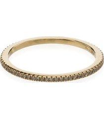 rosa de la cruz gold and diamond midi ring