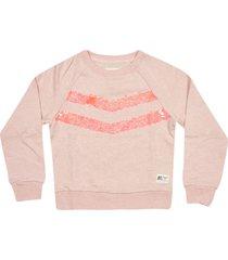 ao76 embroidered sweatshirt