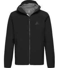 outline jkt m outerwear sport jackets zwart salomon