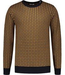 dstrezzed pullover - slim fit - bruin