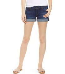 women's hudson jeans croxley cuffed denim shorts