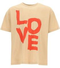 burberry love print t-shirt