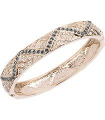grace kelly collection 18k gold plated navajo bracelet