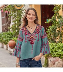 oasis breeze blouse