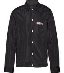 j-roman-p jacket dun jack zwart diesel men
