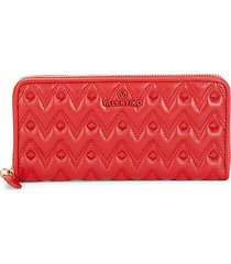 leonard sauvage leather continental wallet