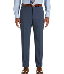 awearness kenneth cole awear-tech postman blue slim fit dress pants