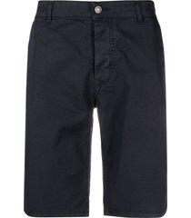 daniele alessandrini straight-leg shorts - blue