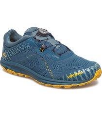 apex ii boa gtx m shoes sport shoes running shoes blå viking