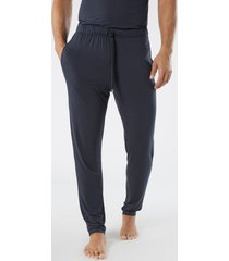 pantalone lungo in seta e modal