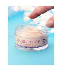 amaro feminino sinestese creme restaurador facial com antioxidantes, neutra
