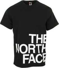 t-shirt korte mouw the north face graphic flow 1 t-shirt