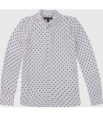 camisa blanco banana republic