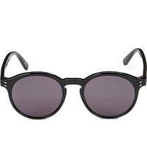 stella mccartney women's 50mm round sunglasses - smoke