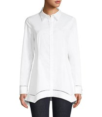 raz cotton-blend shirt