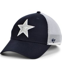 '47 brand dallas cowboys women's glitta trucker cap
