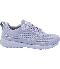 tenis morado skechers bobs sport tough talk