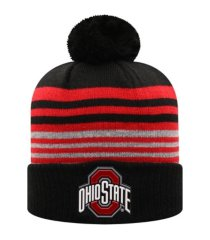top of the world ohio state buckeyes frio knit hat