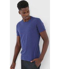 camiseta ellus logo azul
