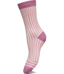 slfvida sock b lingerie socks regular socks lila selected femme