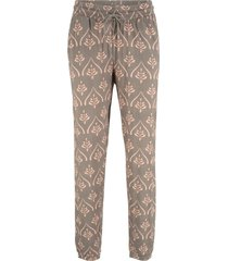 pantaloni in jersey fantasia (verde) - bpc bonprix collection