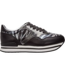 scarpe sneakers donna in pelle h222