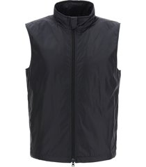 aspesi vernes vest with thermore padding
