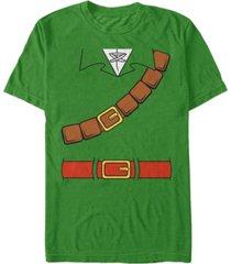 nintendo men's zelda link suit costume short sleeve t-shirt