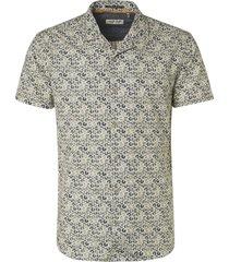 no excess overhemd 136 indigo blue