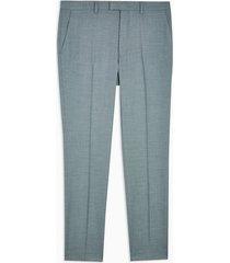mens sage green skinny fit suit pants