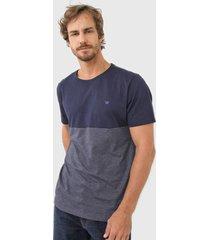 camiseta colombo logo azul-marinho