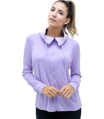 buzos morado under armour buzo tech full zip twist