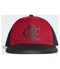 boné flamengo adidas cw s16 preto e vermelho cy5544