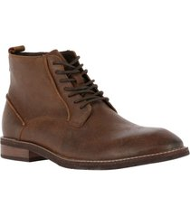 botin cuero yale chocolate rockford