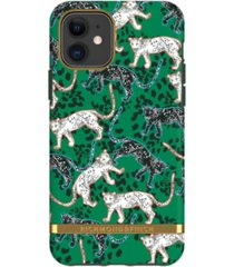 richmond & finch green leopard case for iphone 11