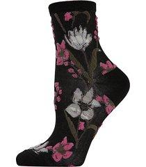 blossom twist anklet socks