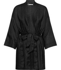 larissa robe morgonrock svart faithfull the brand