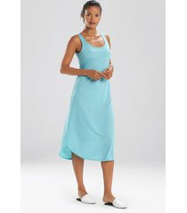 congo nightgown, women's, blue, size m, n natori