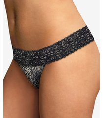 maidenform dream lace thong underwear 40156