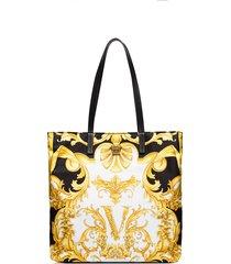 versace palazzo baroque tote bag - black