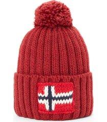 cappello napapijri n0ygse r69 red