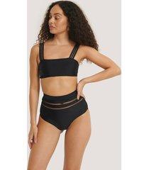 na-kd swimwear bikiniunderdel - black