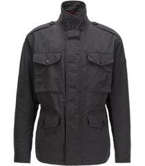 boss men's colano water-repellent field jacket