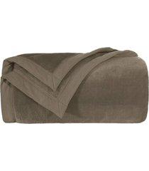 cobertor manta blanket 600 castor casal - kacyumara - marrom - dafiti