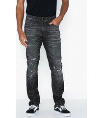 nudie jeans lean dean smashing black jeans svart